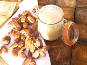 Dates milk shake