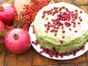 St. Patrick's cake